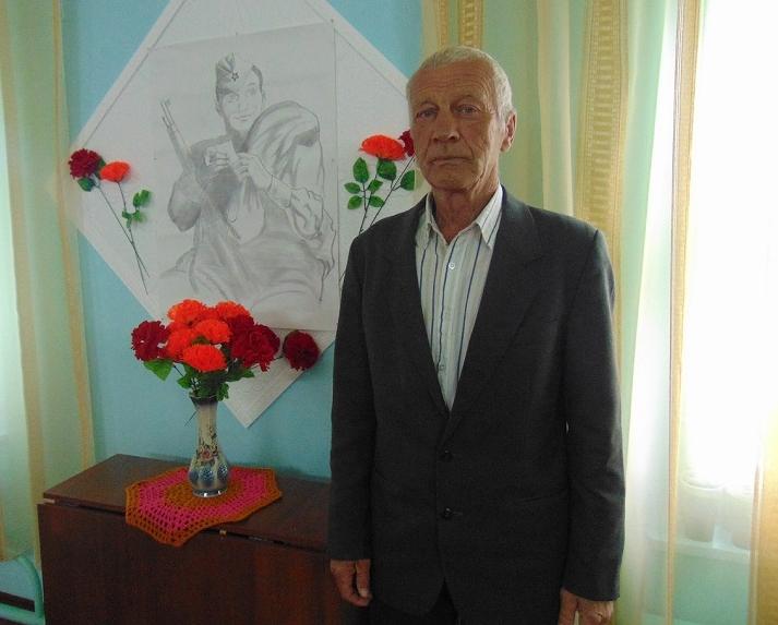 Участник ликвидации Чернобыльской аварии Горячин Борис Николаевич