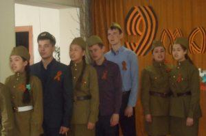 Праздничный концерт в Полуяново