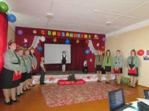 Праздничный концерт в Ушарово