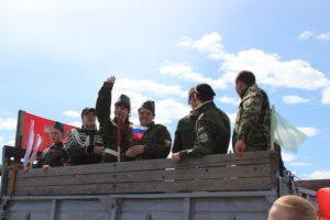 """""""Бессмертный полк"""" в Верхних Аремзянах"""