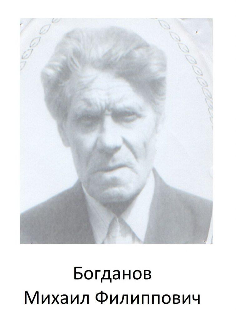 Богданов Михаил Филиппович