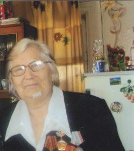 Бухарова Анастасия Артемьевна, ветеран трудового фронта