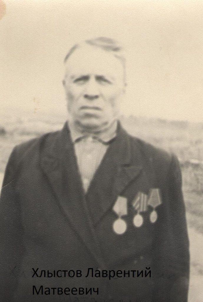 Хлыстов Лаврентий Матвеевич