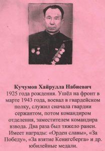 Кучумов Хайрулла Набиевич
