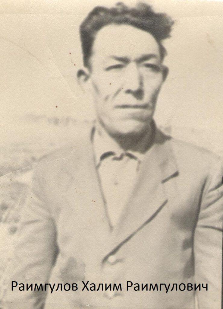 Раимгулов Халим Раимгулович