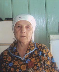 Третьякова Евдокия Андреевна, ветеран трудового фронта