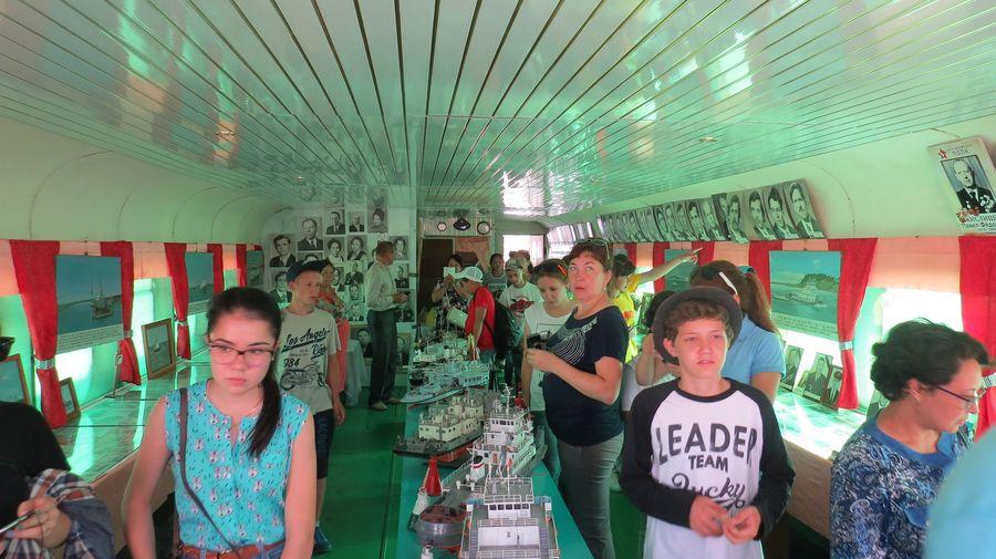 музей-салон трудовой славы работников тобольского речного флота