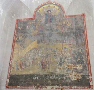 Фрески Кугаевской Рождественской церкви. Страшный суд