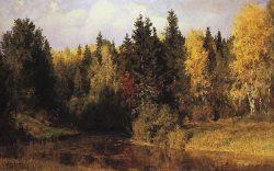 Осень в Абрамцеве Поленов