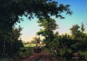 Вид в окрестностях Петербурга, 1865