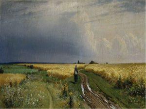 Дорога во ржи, 1866