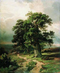 Дубы, 1865
