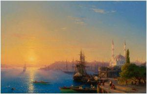 Вид Константинополя и Босфора